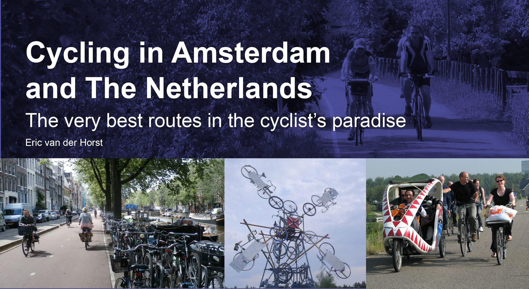 Cycling Amsterdam Netherlands Cyclists Paradise product image