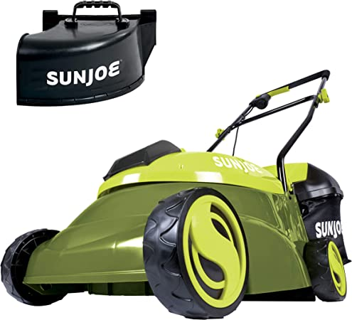 Amazon.com: Sun Joe MJ401C Cortacésped inalámbrico de 14 ...