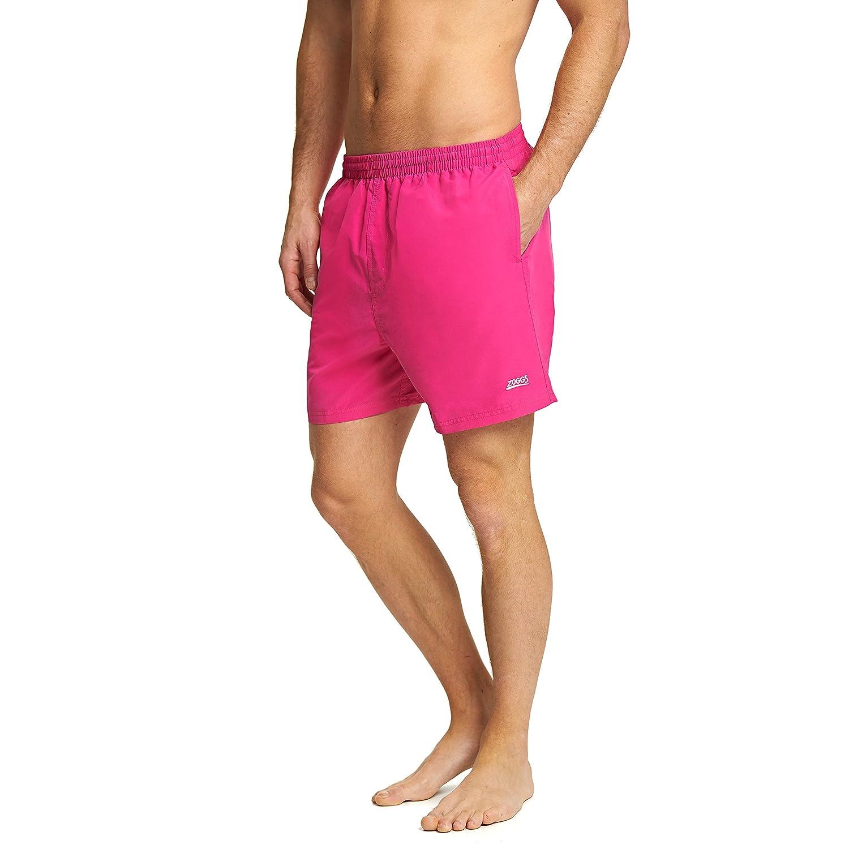 TALLA 2XL. Zoggs Penrith del Hombres Pantalones Cortos, Hombre, Penrith, Rosa, 2 X-Grande