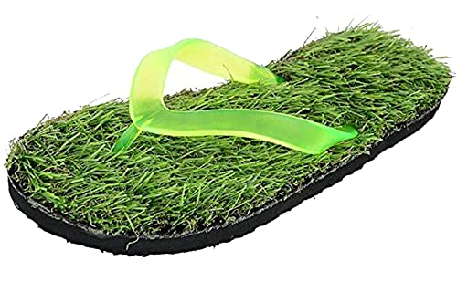 7a8285978108 DRUNKEN Imitation Grass Slipper for Men  Buy Online at Low Prices in India  - Amazon.in