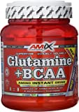 Amix Glutamine + BCAA 530 gr - frutas del bosque (glutamina + bcaas)