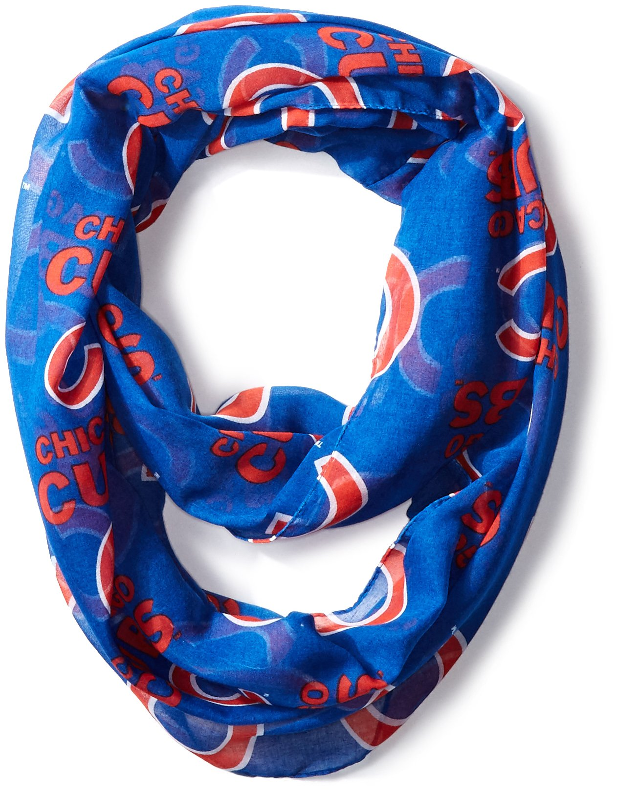 Chicago Cubs 2016 Team Logo Infinity Scarf