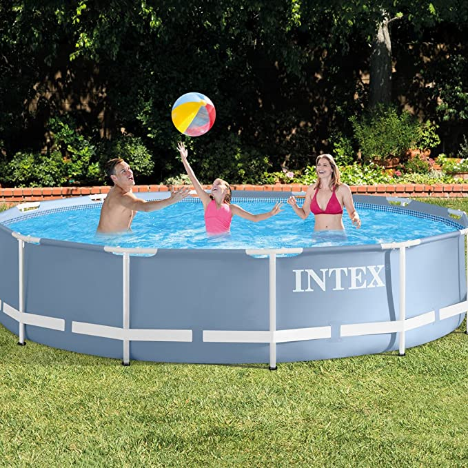 Intex - Piscina desmontable Intex prisma frame 366x76 cm - 6.503 l - 28710NP: Amazon.es: Jardín
