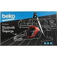 Beko Bks 5564 Toz Torbasız Süpürge, Plastik, 44 Cm, Kırmızı