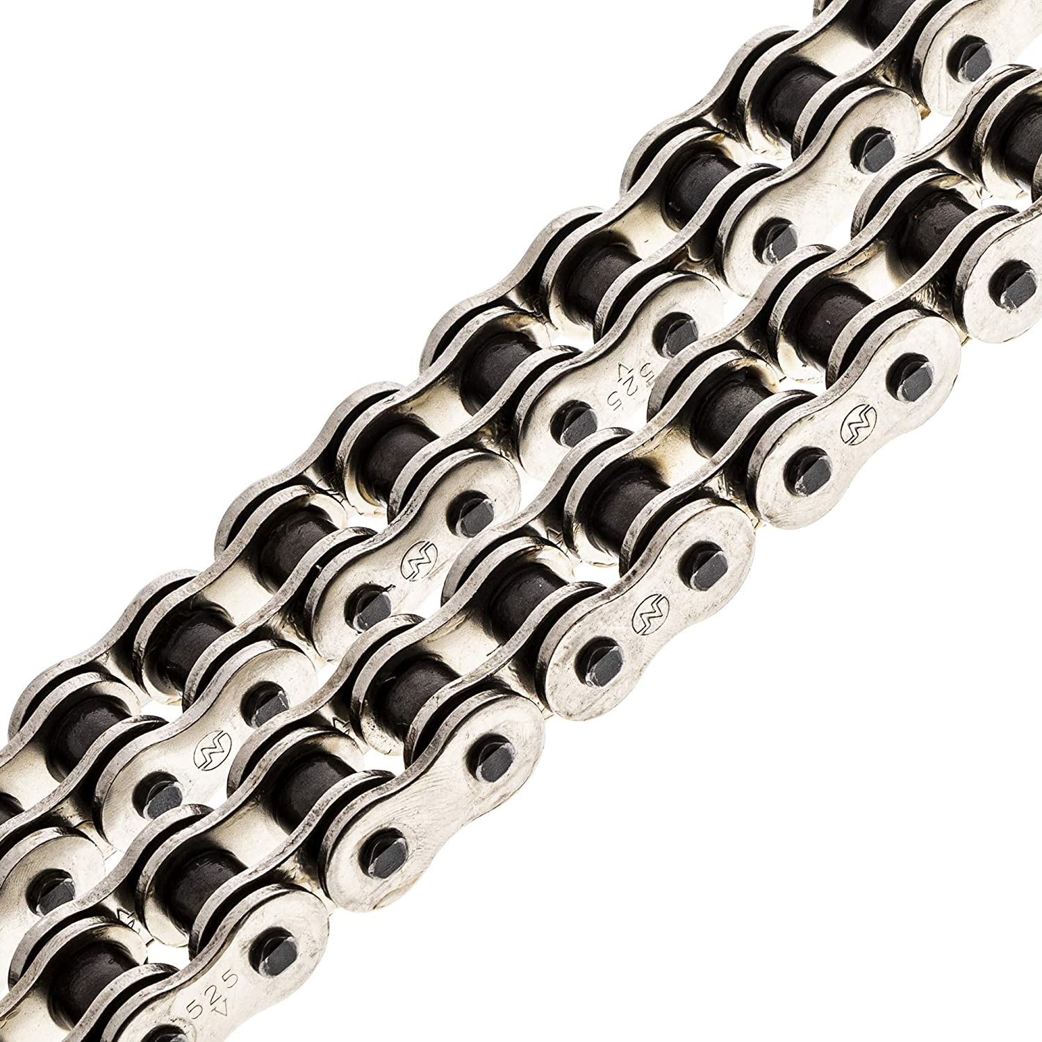 NICHE 525 Drive Chain 124 Links O-Ring With Connecting Master Link for Motorcycle ATV Dirt Bike