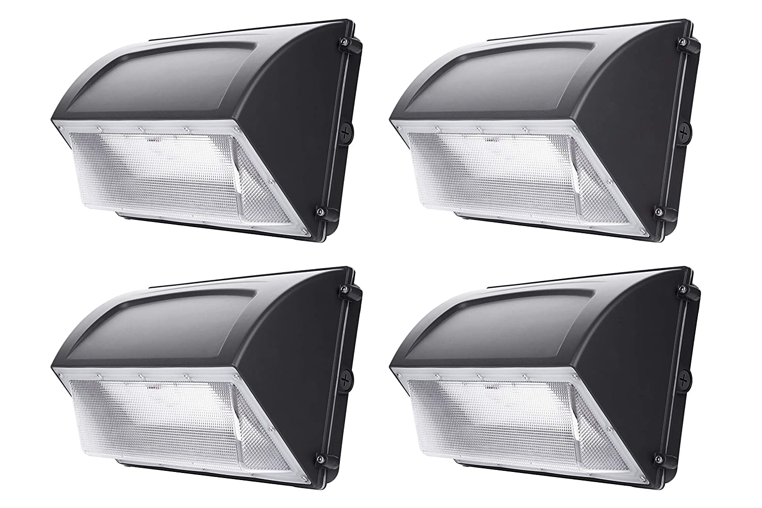 Hyperikon 120W LED Wall Pack, IP65, HPS/HID Replacement, 5000K, 14400 lumens, Outdoor, Garage, Warehouse Light