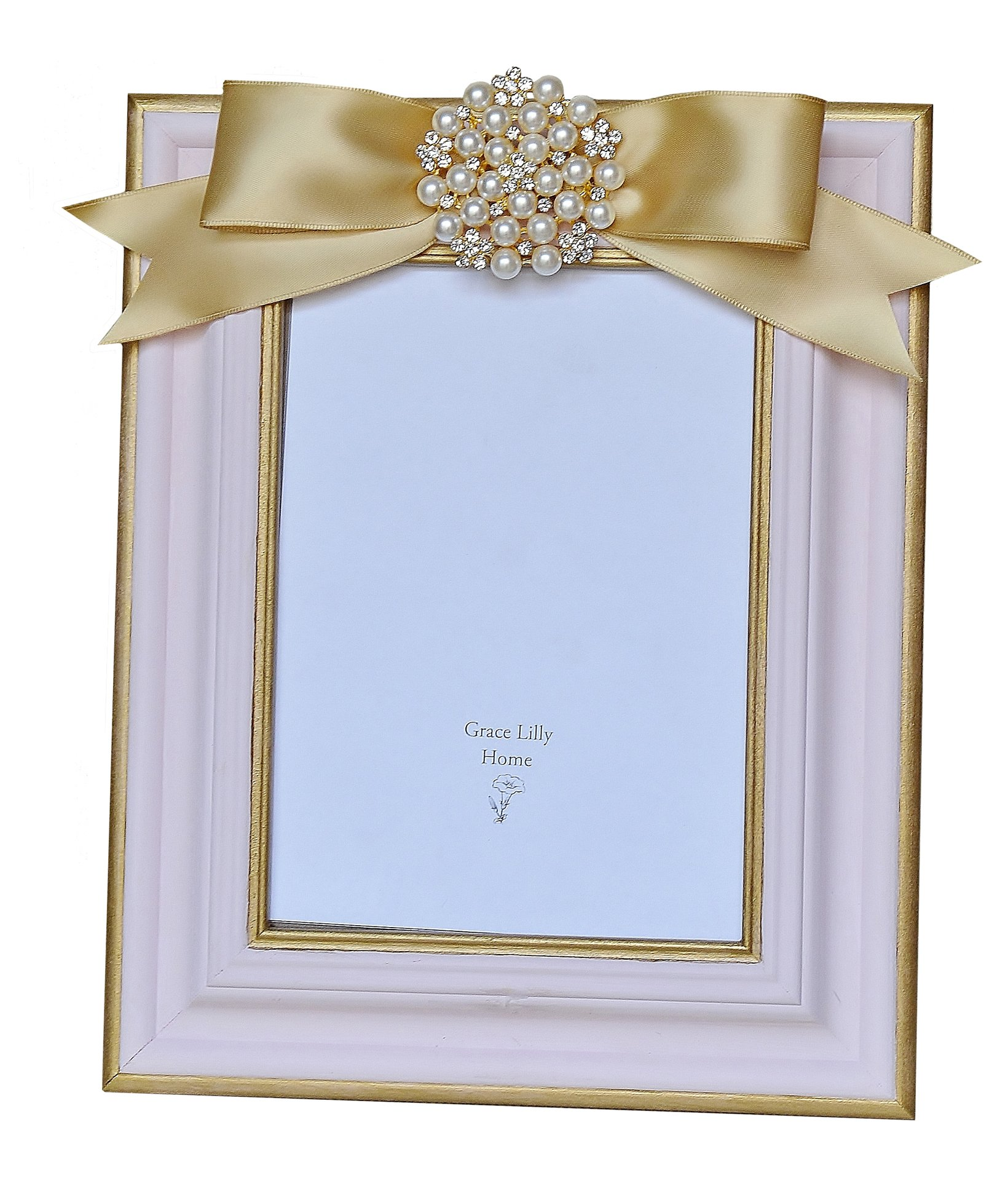 Pink Picture Frame 8x10 by Grace Lilly Home
