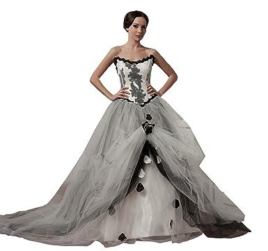 ImPrincess Wedding Dress Medieval Style NO.ip4-5819 at Amazon ...