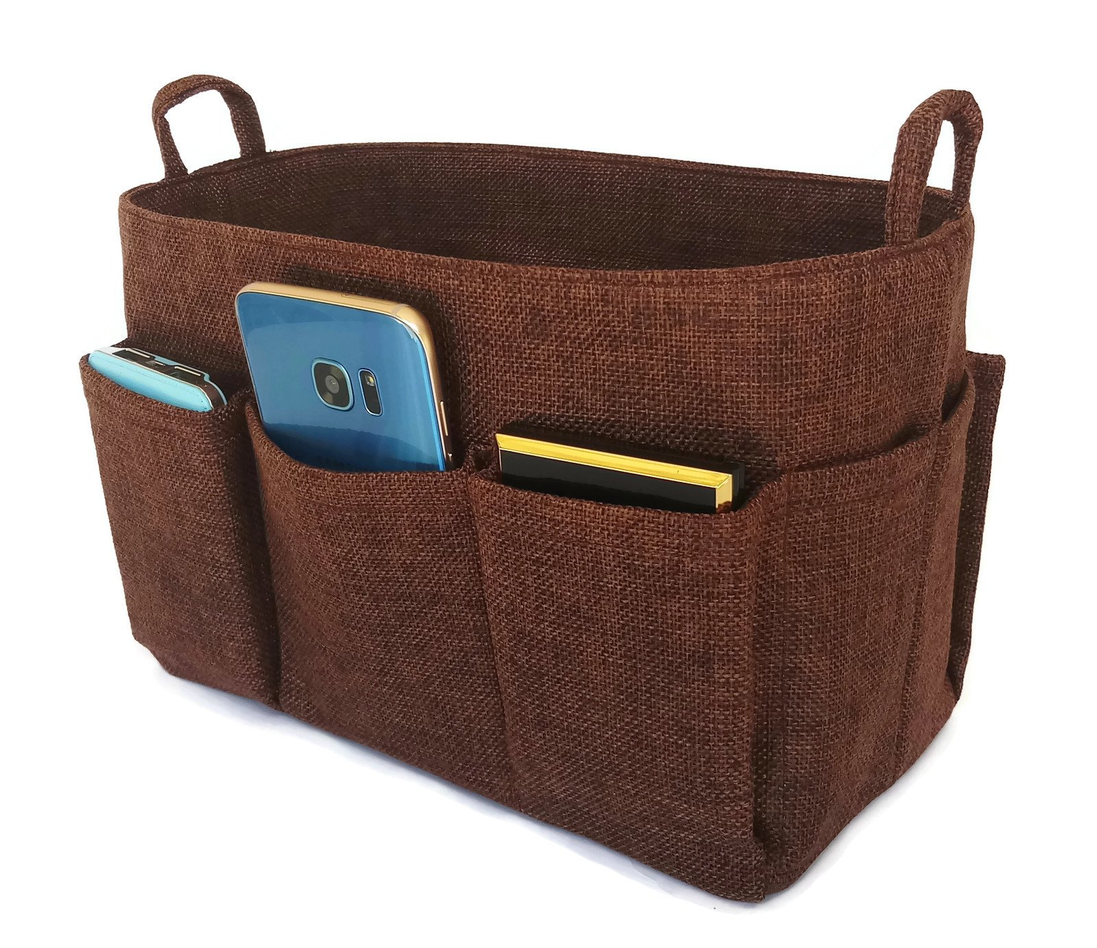 K&M Quality Product Medium Purse Organizer Insert, Tote Organizer, Handbag Organizer : Medium Size K&M (Chocolate)