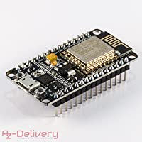 AZDelivery NodeMCU Lua Amica Module V2 ESP8266 ESP-12E WIFI Wifi Development Board mit CP2102 und gratis eBook!