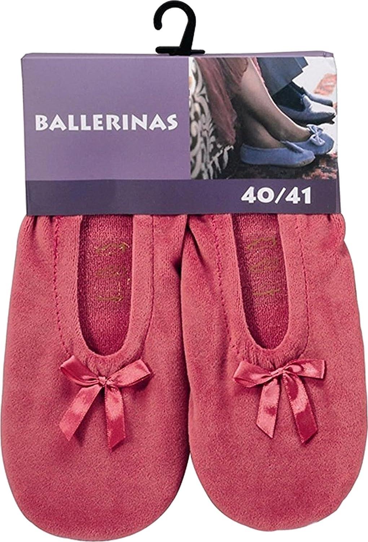 Damen-Ballerinas mit Ledersohle Anti-Rutschsohle aus echtem Leder waschbar