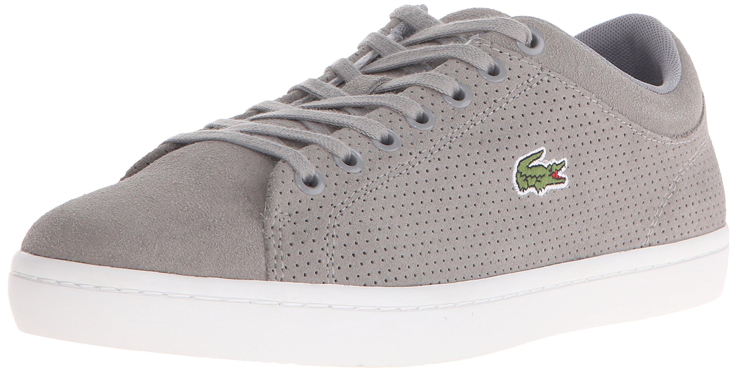 Lacoste Men's Straightset SPT 1162 Fashion Sneaker, Grey, 9 M US