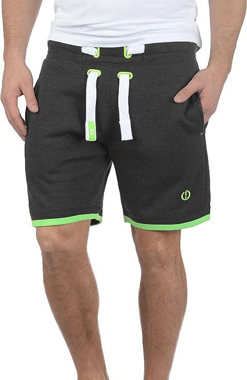 TALLA M. !Solid BenjaminShorts Pantalón Corto Chándal Sweat- Bermudas para Hombre con Forro Polar Suave Al Tacto