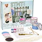 STMT DIY Custom, Create 2 Fragrant Candles, Candle Tins, Recipe Card, Sticker Labels, Wax Chips, Candle Wicks, Fragrance Drop