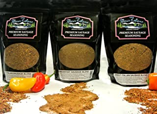 product image for The Coeur d'Alene Dressing Company - Hunter's Sausage Blends and Rubs - Variety Three Pack