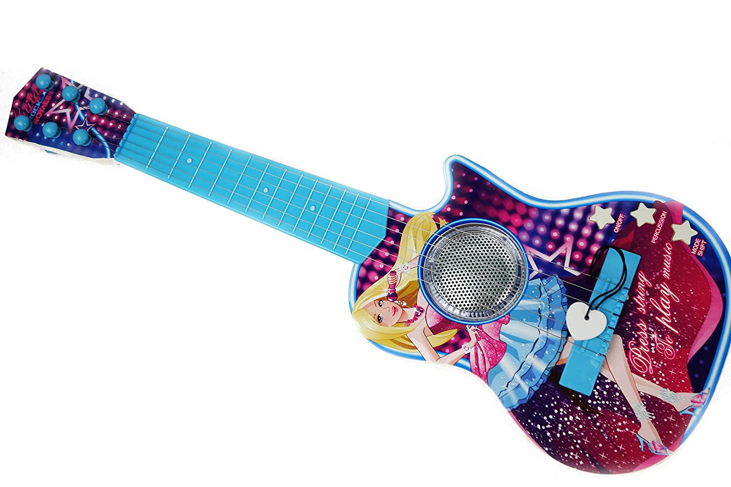 Amazon com nbd corp toy guitar for girls is a great gift for toddlers and all children our kids guitar for girls is a great beginner acoustic guitar