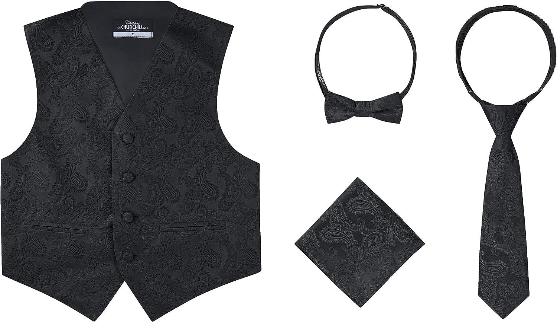 S.H. Churchill & Co. Conjunto de chaleco y corbata de ...