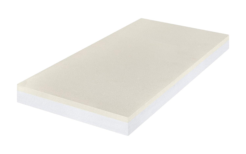 Colchón para camas infantiles Premium Color Blanco para alivio de presión blanco Blanco Talla:120 x 60 cm: Amazon.es: Bebé