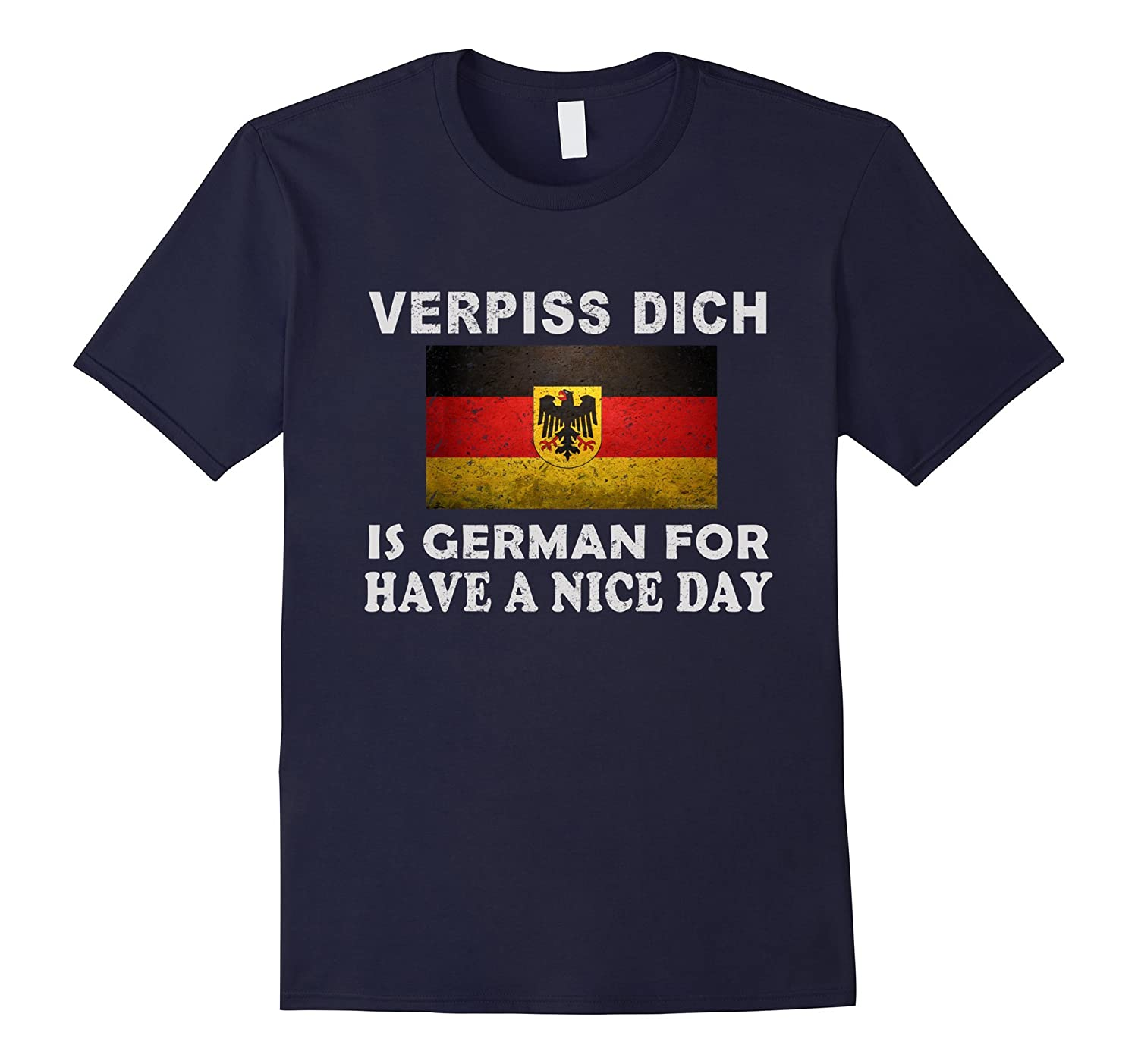 Verpiss dich is German for have a nice day-RT