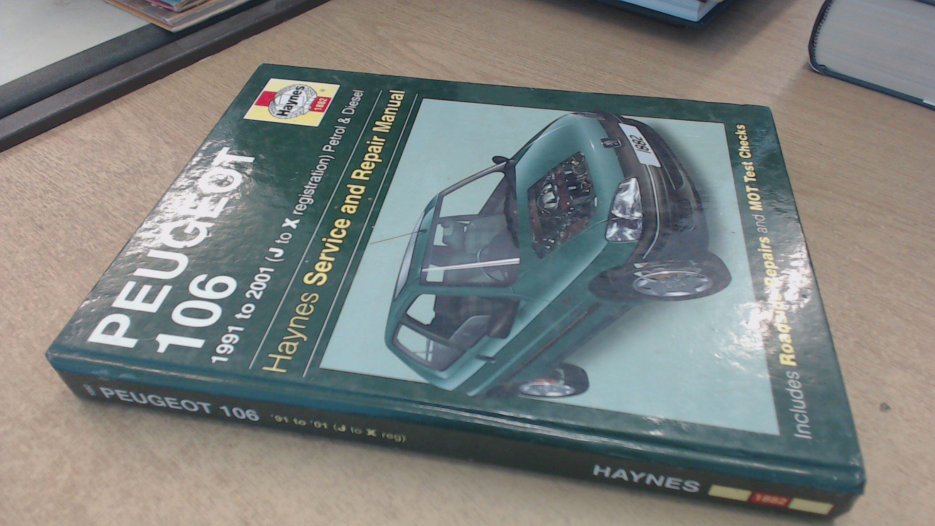 Peugeot 106 haynes car service & repair manuals | ebay.