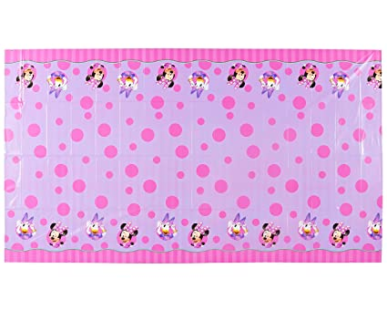 Image Unavailable  sc 1 st  Amazon.com & Amazon.com: American Greetings Minnie Mouse Party Supplies Plastic ...
