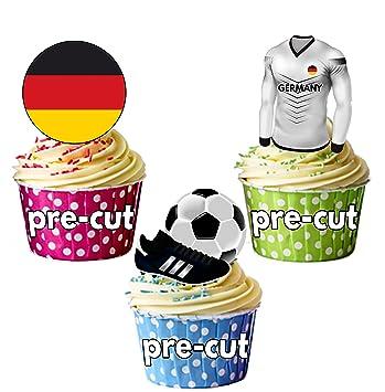 Cupcake Kuchendekoration Vorgeschnitten Essbar Deutschland