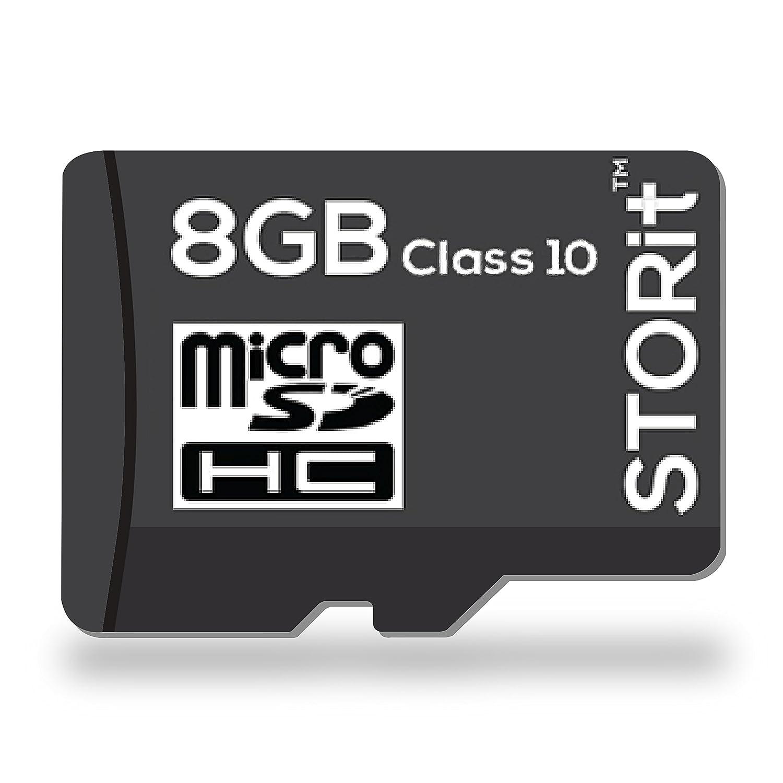 STORIT 8GB Class 10 MicroSDHC Memory Card