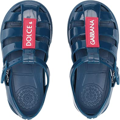 7059f8cf3e7c Dolce   Gabbana Kids Baby Boy s Jellies (Toddler Little Kid) Dark Blue 24
