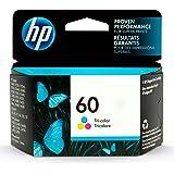 HP 60 | Ink Cartridge | Tri-color | Works with HP DeskJet D2500 Series, F2430, F4200 Series, F4400 Series, HP ENVY 100, 110,