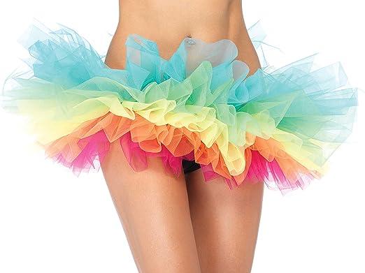 Brand New LED Neon Rainbow Tutu Halloween Costume Accessory