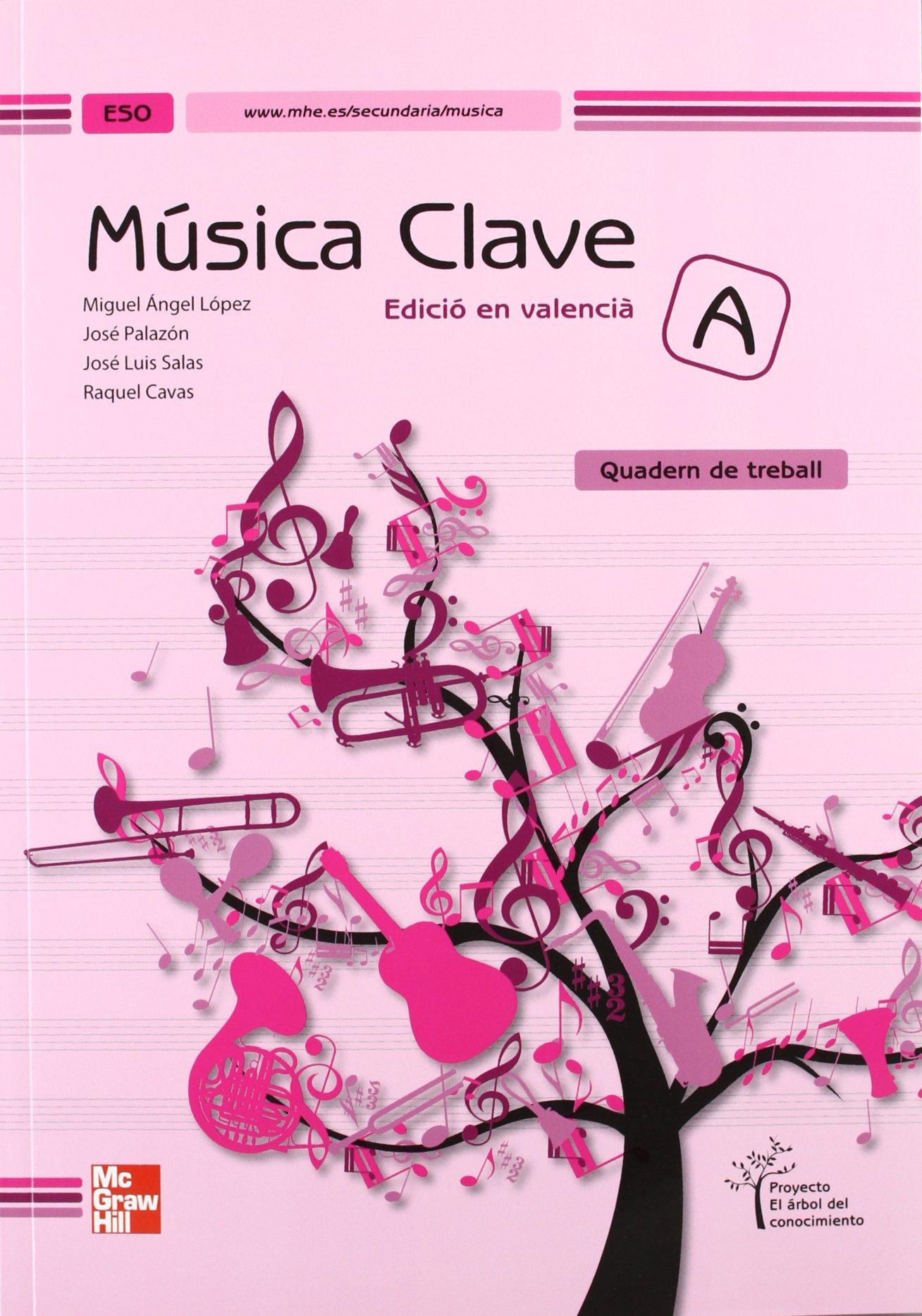 Download Clave A, música, ESO (Valencia). Quadern de treball pdf epub