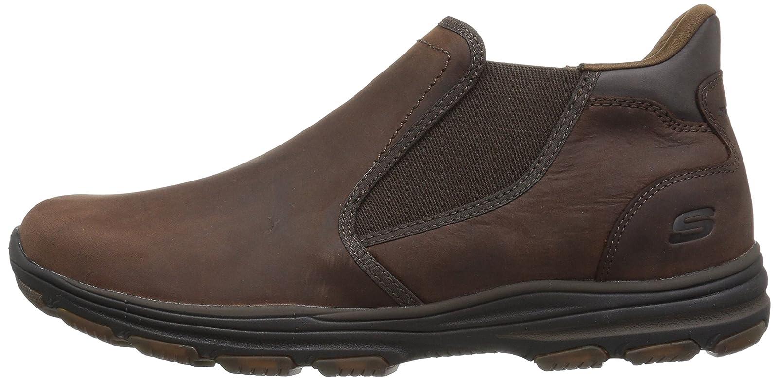 Skechers Men's Garton Keven Ankle Bootie 8 M US - 5