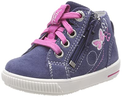 Superfit Moppy, Baskets Bébé Fille, Pink (Pink Kombi), 27 EU