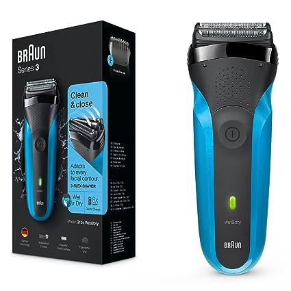 Braun Series 3 310s Wet   Dry - Afeitadora eléctrica para hombre  recargable 48d91886446c
