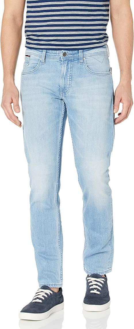 Tommy Jeans Mens Ryan Original Straight Leg Jeans