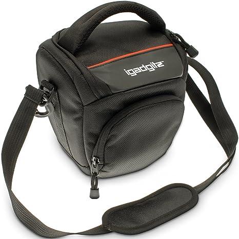 iGadgitz U4085 Estuche para cámara fotográfica - Funda (Funda, Nikon, Bridge 1 V1, Coolpix L810 L820 L830, P500 P510 P520 P530, P600 P610, P900, ...