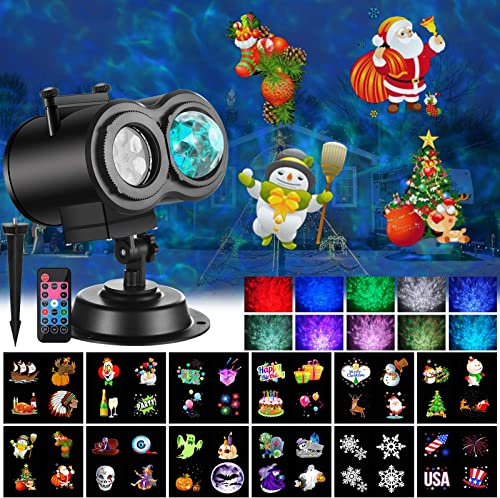 Ocean Wave Christmas Projector Lights review