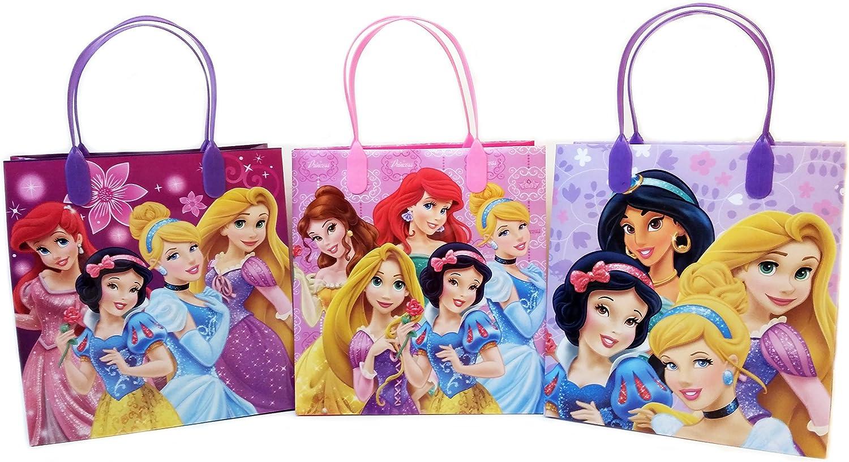 12 pcs Disney Princess Party Favor Goody Gift Loot Bag Girls Birthday Supply
