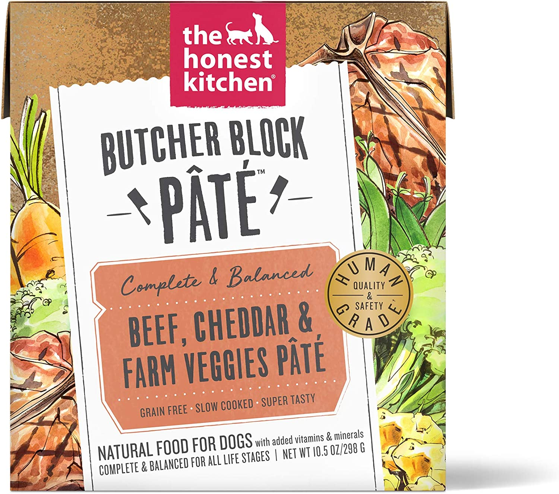 The Honest Kitchen Human Grade Wet Dog Food - Butcher Block Pate, Case of 6