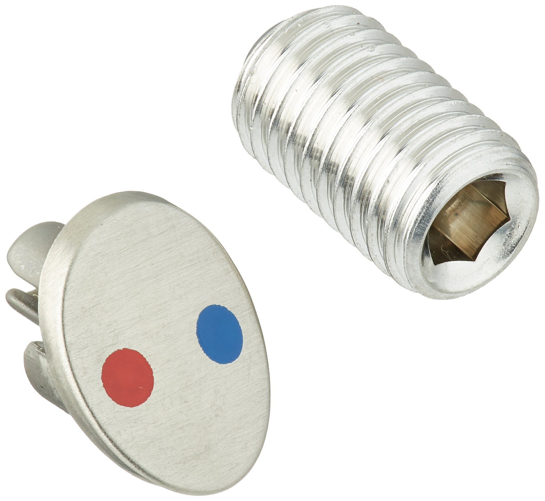 Delta RP61368SS Talbott Button and Set Screw, Stainless