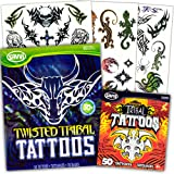 Savvi Tribal Tattoos Assortment ~ 2 Bags ~ 72 Assorted Designs
