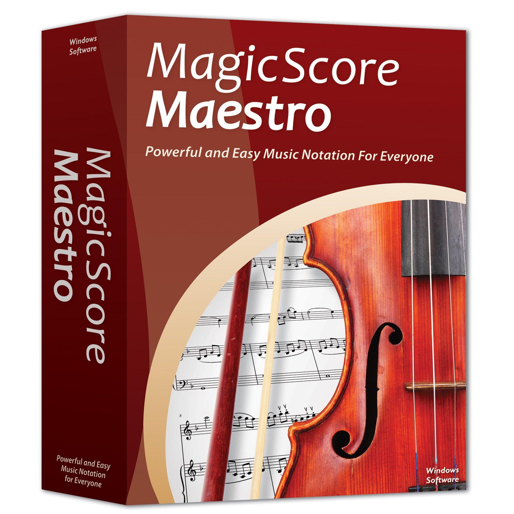 MagicScore Maestro v8.0 by MagicScore