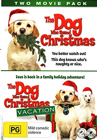 Amazon Com Two Movie Pack The Dog Who Saved Christmas