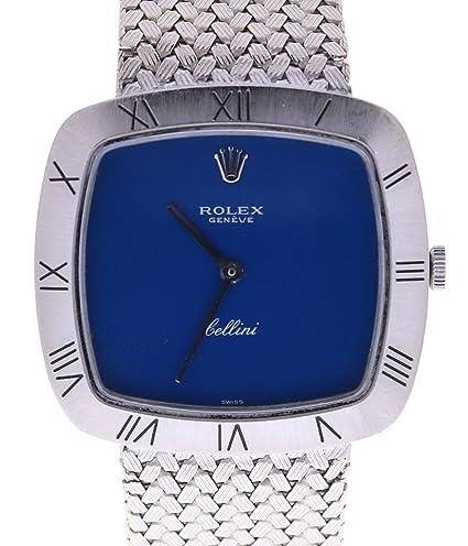 Rolex Cellini cuarzo mujer reloj Cellini (Certificado) de segunda mano: Rolex: Amazon.es: Relojes