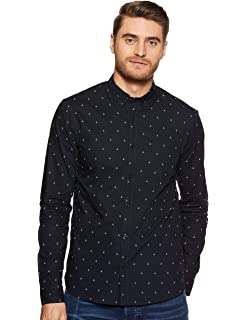 Scotch & Soda Regular Fit- Shirt with Sleeve Collectors and Fixed Pochet Camisa para Hombre: Amazon.es: Ropa y accesorios
