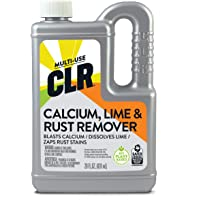CLR Calcium, Lime & Rust Remover, Blasts Calcium, Dissolves Lime, Zaps Rust Stains, 28 Ounce Bottle (Packaging May Vary)