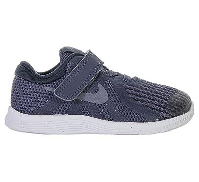 71beb2bc546b Nike Girls  Boys Revolution 4 (Ps) Preschool Running Shoes  Amazon ...