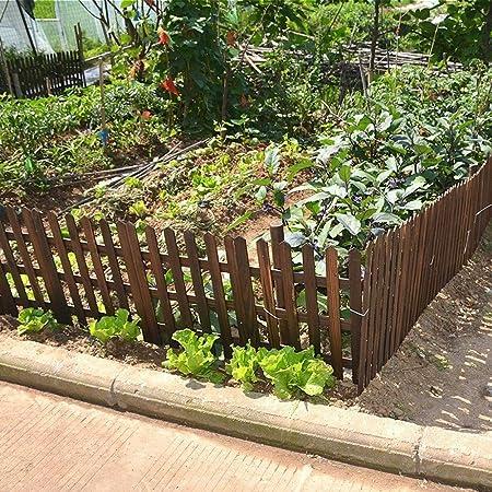 ZENGAI Gartenzaun Gartenzaun/Lattenzaun Teleskopzaun Massivholz Abgeschnitten Innen 2 Farben Draussen Gartenarbeit Terrasse Kletterpflanzen Color : White, Size : 70cm