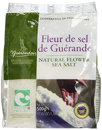 Fleur De Sel De Guerande 500 G Amazon Co Uk Grocery
