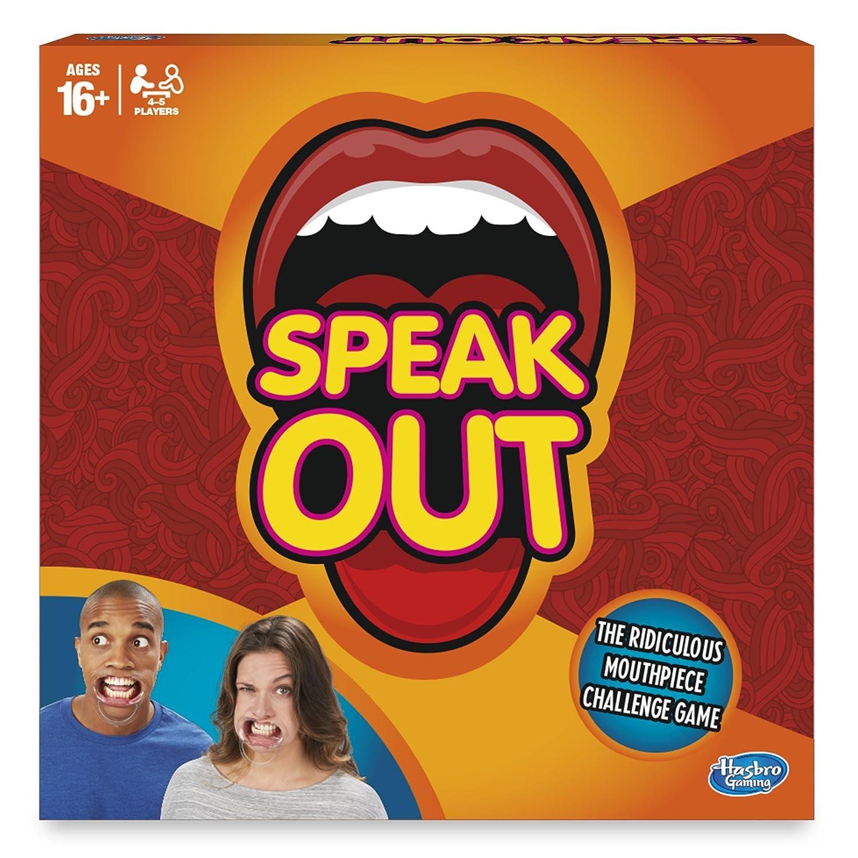 Hasbro Gioco Fuori dai denti edizione inglese